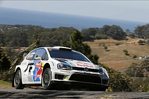 WRC Stage report Mikkelsen leads after Thursday's stages in Australia