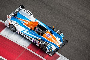 ALMS Testing report BAR1 back on track at Circuit of the Americas