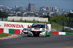 WTCC Qualifying report Tiago Monteiro qualifies 5th and 6th at Suzuka