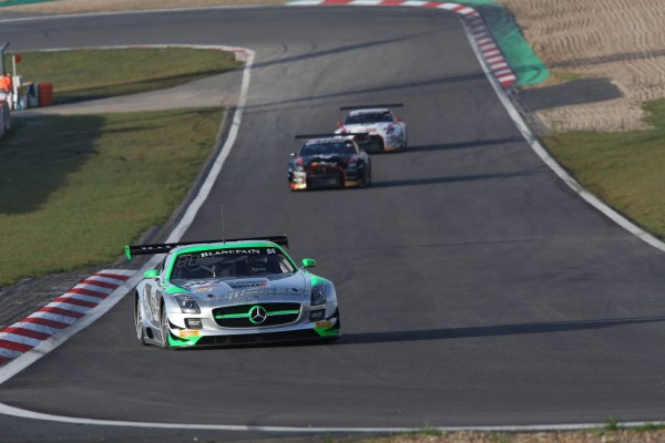 HTP Mercedes take Pole for Blancpain 1000 title decider at  Nürburgring