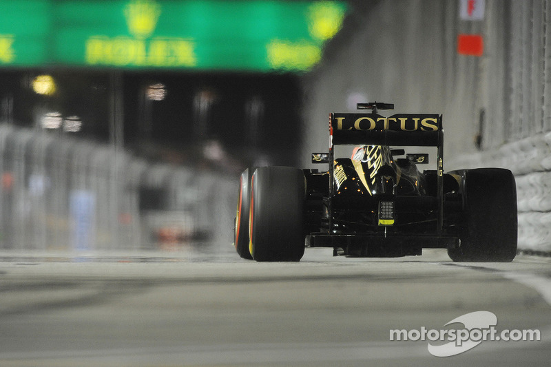 No more 'passive DRS' for Lotus in 2013