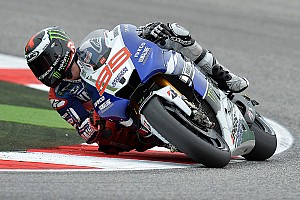 MotoGP Practice report MotoGP action begins in Aragon for Yamaha Racing
