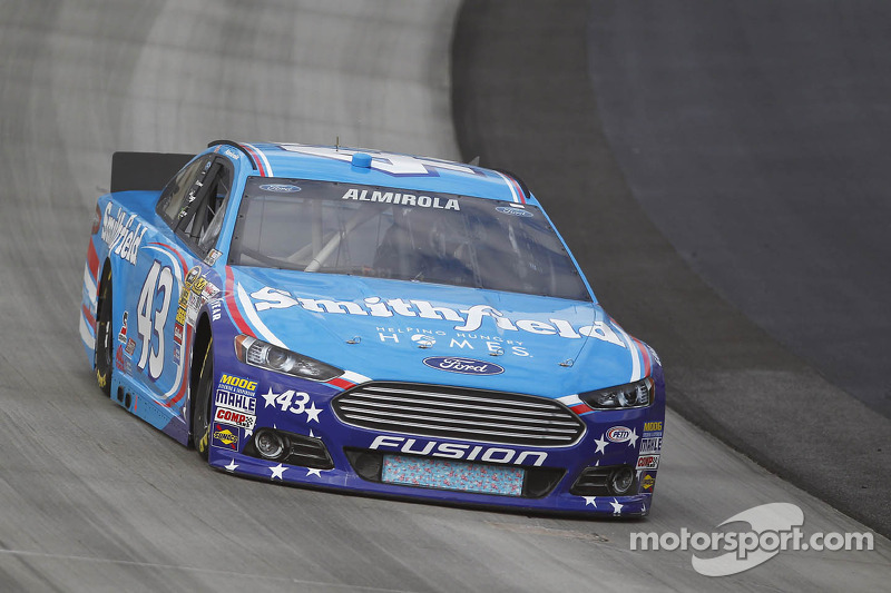 Almirola hopes to capitalize on top five qualifying run at Dover