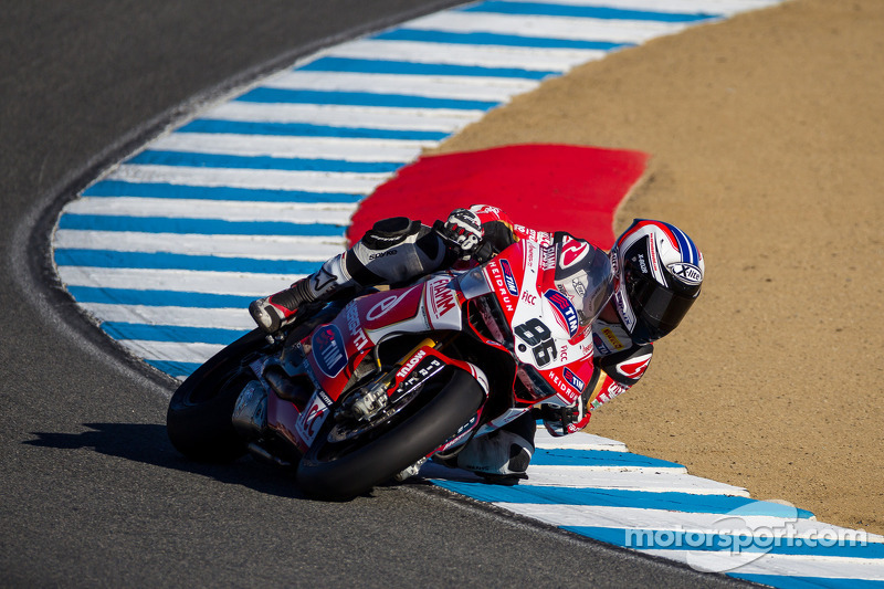 Room for improvement for Team SBK Ducati Alstare at Magny-Cours
