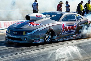 NHRA Qualifying report Lucas, J.Force, Line and Ray take top qualifying spots at the Maple Grove Raceway Nationals