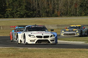 ALMS Race report BMW Team RLL results from Oak Tree GP at VIR