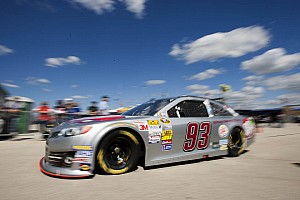 NASCAR Sprint Cup Race report Kvapil races to 27th place finish at Kansas Speedway