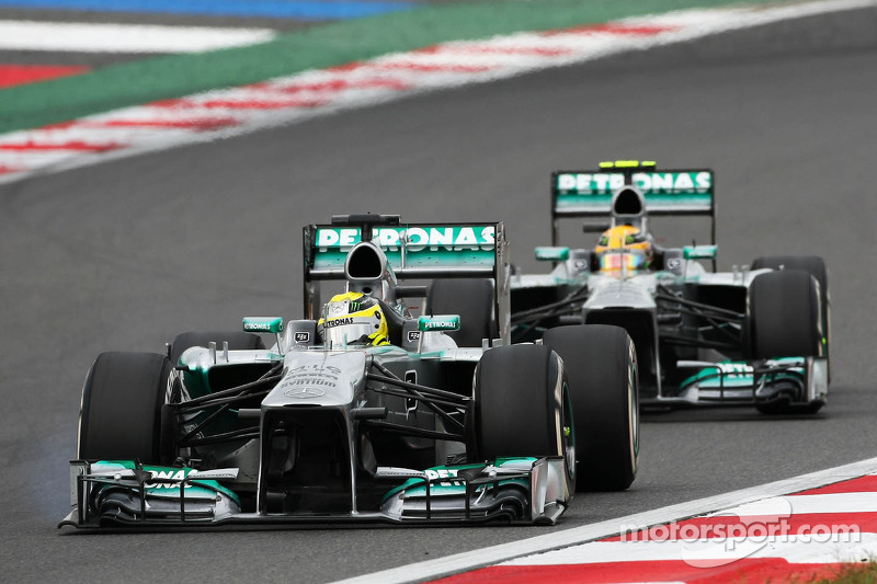Mercedes looking ahead to Japan