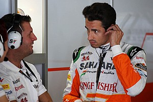 Sutil says Pirellis 'not like F1 tyres'