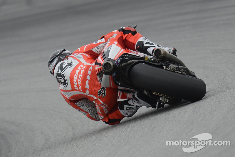 Difficult qualifying session for Ducati Team in Malaysia