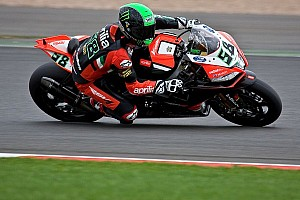 World Superbike Qualifying report Laverty snatches Tissot-Superpole win over Sykes