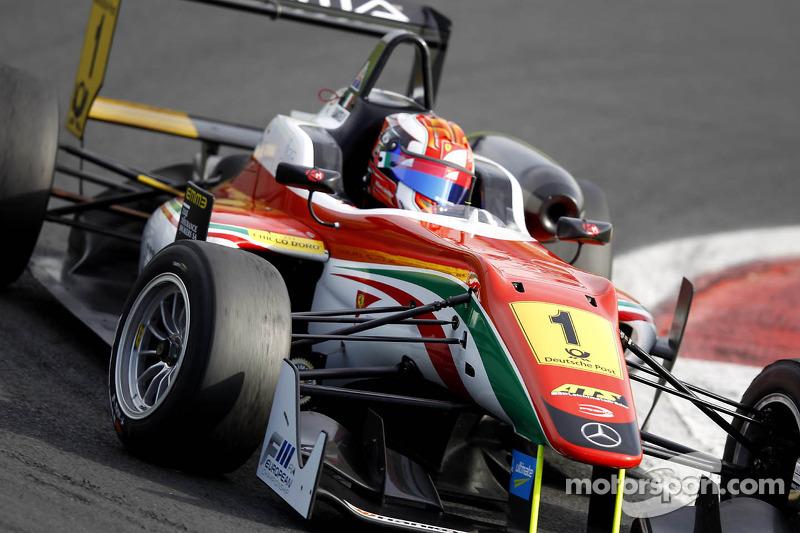 FIA Formula 3 European Champion Raffaele Marciello in portrait