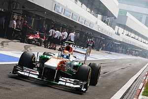 Formula 1 Qualifying report Both Force India drivers got their chance in Q2 of qualifying at India