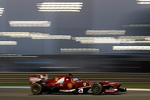 Ferrari: Searching in the dark at Abu Dhabi