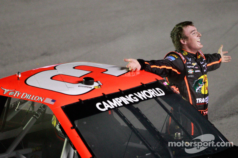 Ty Dillon wins in Texas