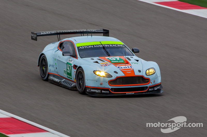 Double pole for Aston Martin in Shanghai