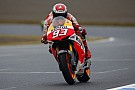 Marquez starts title fight in front at Valencia