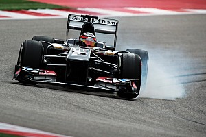 Sauber placed both cars into Q3 at COTA
