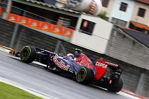 A solid 6th best time in Friday practice for Toro Rosso at Interlagos
