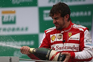 Formula 1 Race report The year ends on the podium for Ferrari on the Brazilian GP