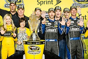 NASCAR Sprint Cup Breaking news Johnson given 3-to-1 odds for 2014 title