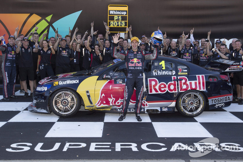 Whincup takes his fifth V8 Supercars championship