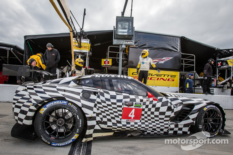 Corvette Racing tops GTLM charts on final day of 'Roar' testing