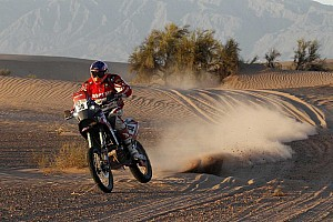 Dakar Stage report Bad luck for Speedbrain