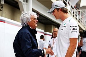 Mercedes happy about Ecclestone's lesser F1 role
