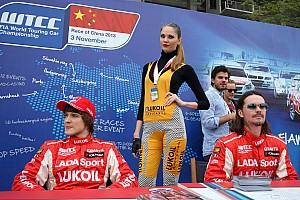 LADA Sport drivers assess WTCC's new sporting rules