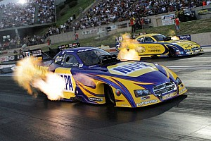 NHRA Preview Capps wants to celebrate with golden trophy at Pomona