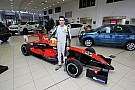 Colin Noble Junior motor racing champion moves up a gear