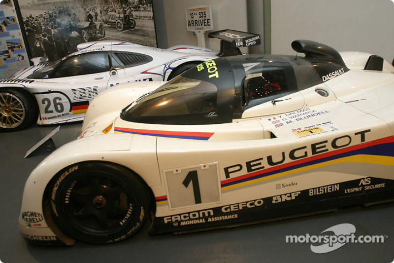 The Le Mans 24 Hours on display at the Geneva International Motor Show