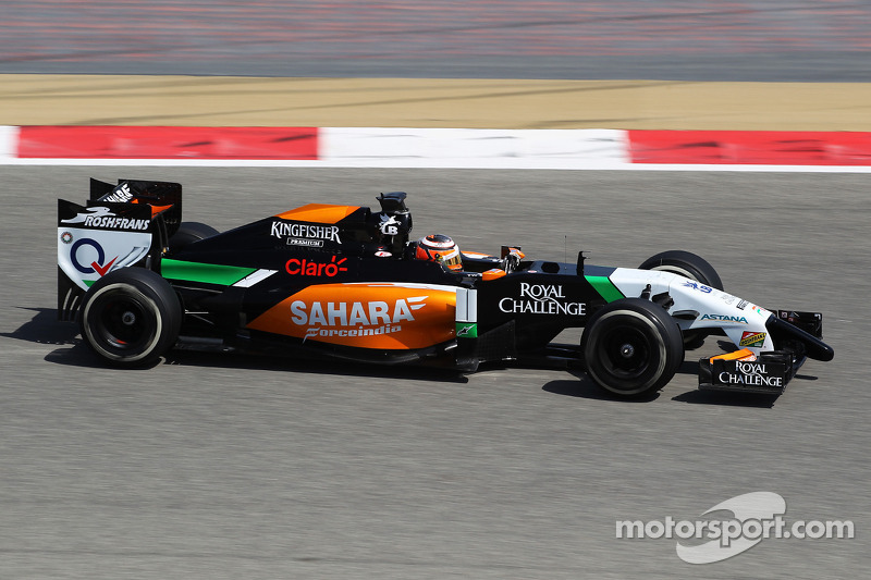 Sahara Force India completed its second day of testing in Bahrain