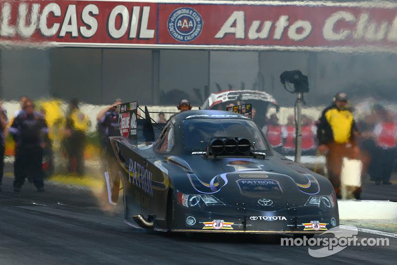 Good qualifying attempt for Alexis DeJoria at Phoenix