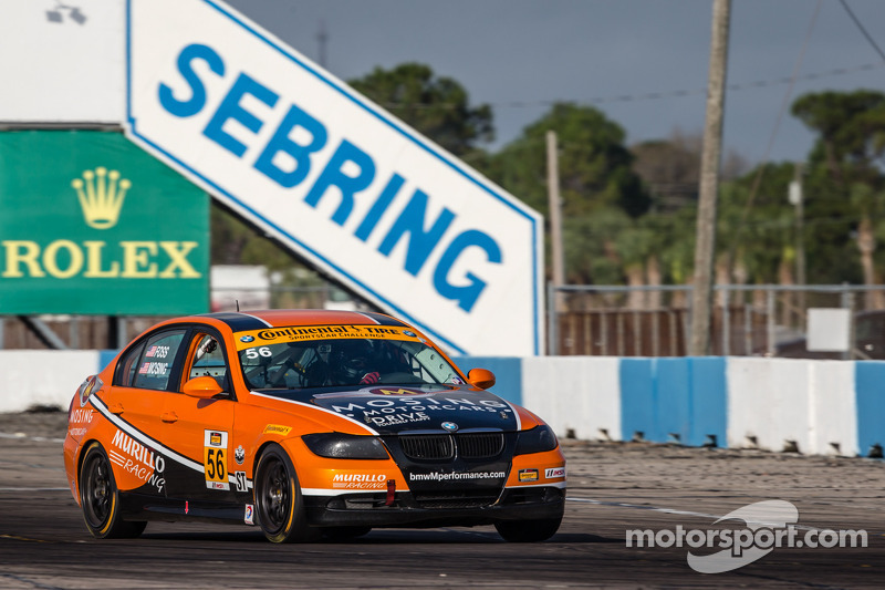 Ford, BMW pace CTSCC testing at Sebring