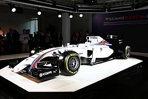 Williams Martini Racing puts the stripes back on the grid
