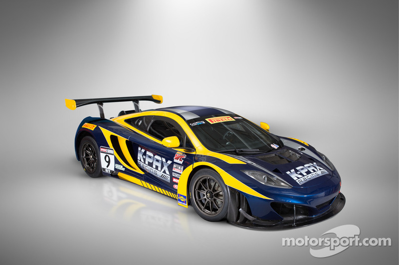 K-PAX racing unveils McLaren 12C GT3 livery for 2014 Pirelli World Challenge season