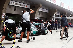 Fruitfull practice session for Mercedes at China