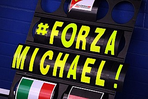 Formula 1 Breaking news Expert alarmed at Schumacher weight loss