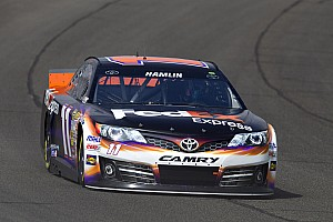 Denny Hamlin on upcoming Fontana race