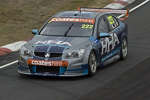 V8 Supercars Practice report Percat's positive start at Symmons Plains