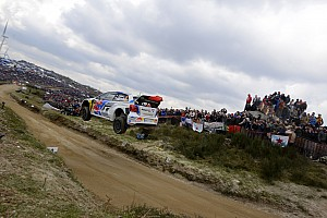 "WRC Special feature ""Fafe Rally Sprint"": Ogier show thrills 100,000 fans in Portugal"