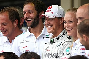 Formula 1 Breaking news Doctors 'cautious' after Schumacher awakening news