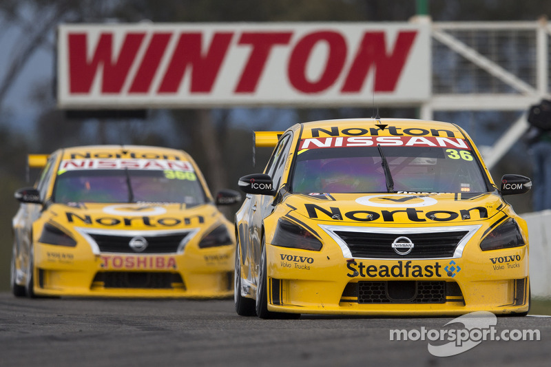 Norton Nissan duo takes double top 10 result at Winton