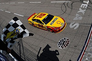 NASCAR Sprint Cup Breaking news Logano takes win in Texas