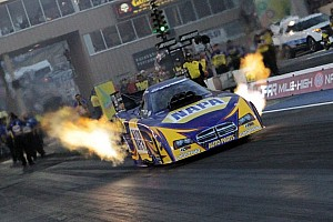 NHRA Qualifying report Capps earns Four-Wide pole at zMAX Dragway