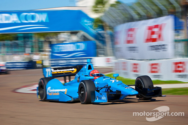 SPM drivers qualified with a big gap for tomorrow's Long Beach race