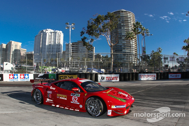 Risi Ferrari takes the checker at long beach!