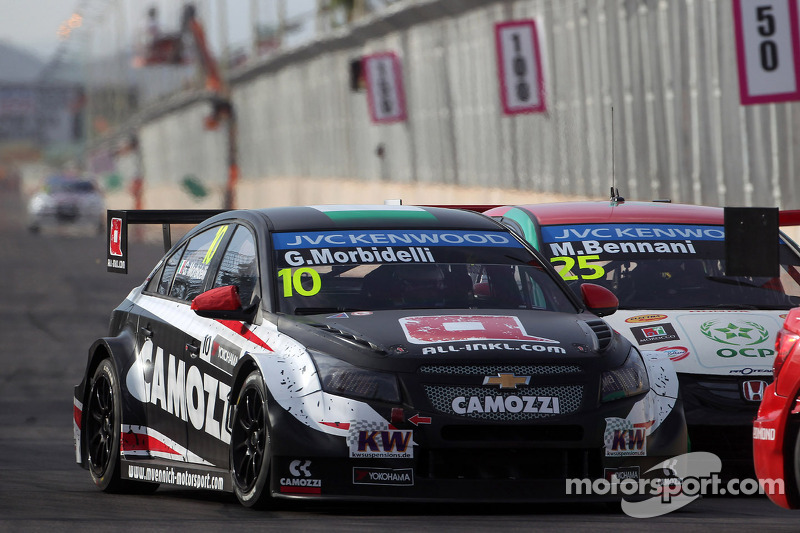 First points for Muennich Motorsport at the WTCC season opening in Morocco